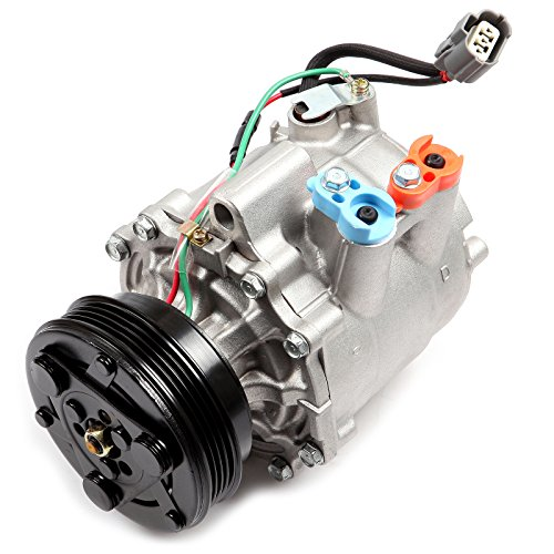 ECCPP AC Compressor and A/C Cluth CO 3605AC Automotive Replacement Compressor Assembly for 2003-2005 Honda Civic Hybrid 1.3L 38810PZA004 2004