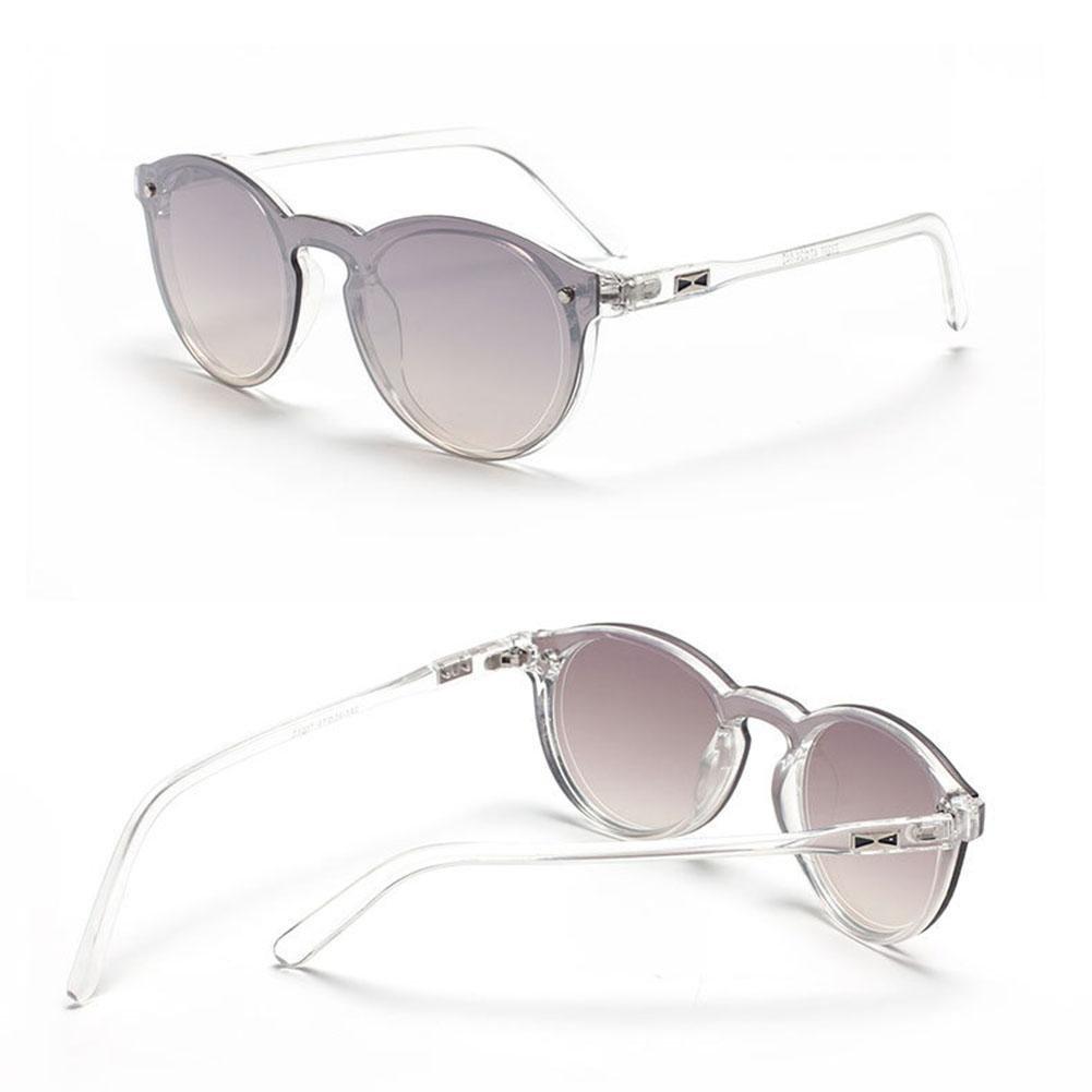 Z&YQVintage-Stil runden Rahmen Sonnenbrille Mode Fahren Reisen Brillen , a