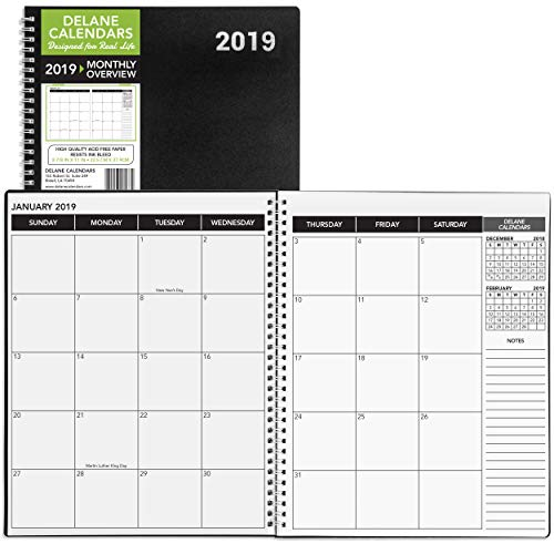 Delane 2019 Monthly Daily Planner Calendar / Appointment for sale  Delivered anywhere in USA