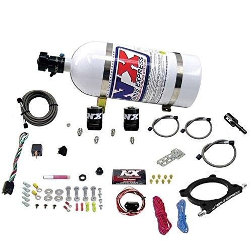 Nitrous Express 20951-10 5.0L Plate Nitrous System w/10 lb. Bottle/Brackets Ford 50-250HP 5.0L Plate Nitrous System ()