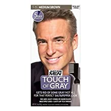 JUST FOR MEN Touch of Gray Haircolor T-35 Medium Brown, 1 Each (Pack of 3)