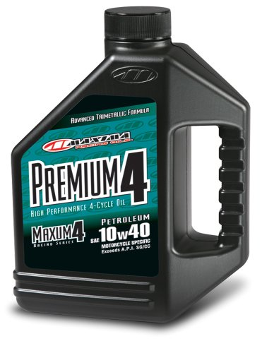 (Maxima (349128) Premium4 10W-40 Motorcycle Engine Oil - 1 Gallon)