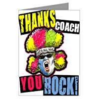 "3-PACK CRAZY FANS ""Thanks Coach!"" SPORTS POWERCARD Mid-size (5x7"") 3-PACK"