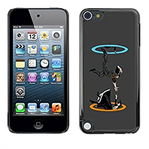 Paccase / SLIM PC / Aliminium Casa Carcasa Funda Case Cover para - Portal Drop - Apple iPod Touch 5