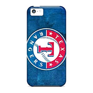 Iphone 5c YVS5670oLxa Custom HD Texas Rangers Image Shock Absorbent Hard Phone Case -JoanneOickle