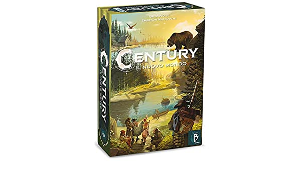 Asmodee Italia - Century El Nuevo Mundo de Juegos de Mesa, Color ...