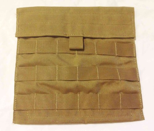 (Military Army USMC MOLLE Ammo Utility Side Pouch Pocket Coyote Brown Lot of 2)