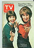 1976 TV Guide May 22 Laverne and Shirley (First Cover) - Eastern Washington Edition NO MAILING LABEL Very Good...