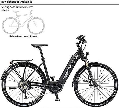 KTM Macina Sport 11 CX5 Bosch 2019 - Bicicleta eléctrica, Color Schwarz Matt/Grau, tamaño 28