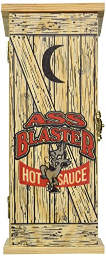- Ass Blaster Hot Sauce with Outhouse