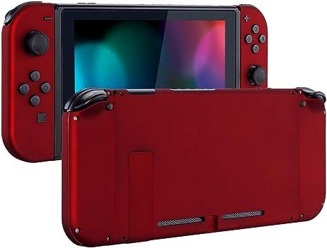 eXtremeRate Carcasa para Nintendo Switch,Funda Completa para Mando Controlador Consola Joy-con de Nintendo Switch Shell de Bricolaje reemplazable con Botón Completo (Rojo): Amazon.es: Electrónica