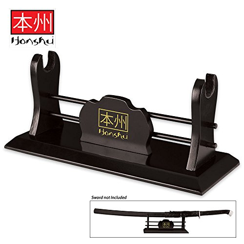 Honshu Single Sword Wooden Display (Stand United Cutlery)