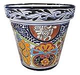 Tierra Fina Talavera Standard Pot – 10.50″ Diameter x 10″ High