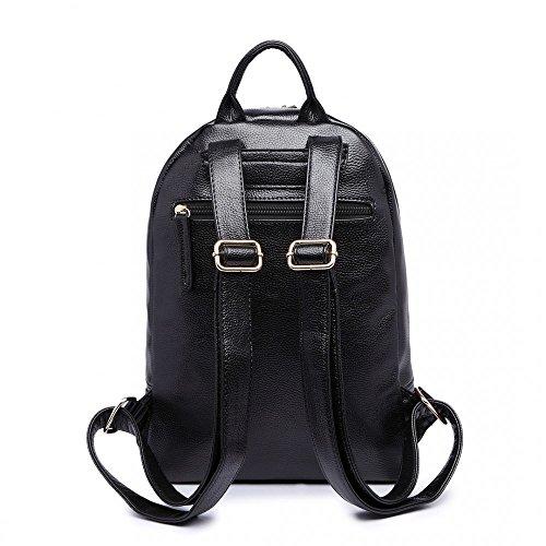 MLL - Bolso mochila  para mujer negro medium