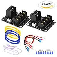 3D Printer Heat Bed Power Module SIMPZIA General Add-on Hot Bed Mosfet MOS Tube High Current Load Module for 3D Printer Hot Bed/Hot End(2 Pack) by Simmper