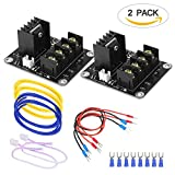 #9: 3D Printer Heat Bed Power Module SIMPZIA General Add-on Hot Bed Mosfet MOS Tube High Current Load Module for 3D Printer Hot Bed/Hot End(2 Pack)
