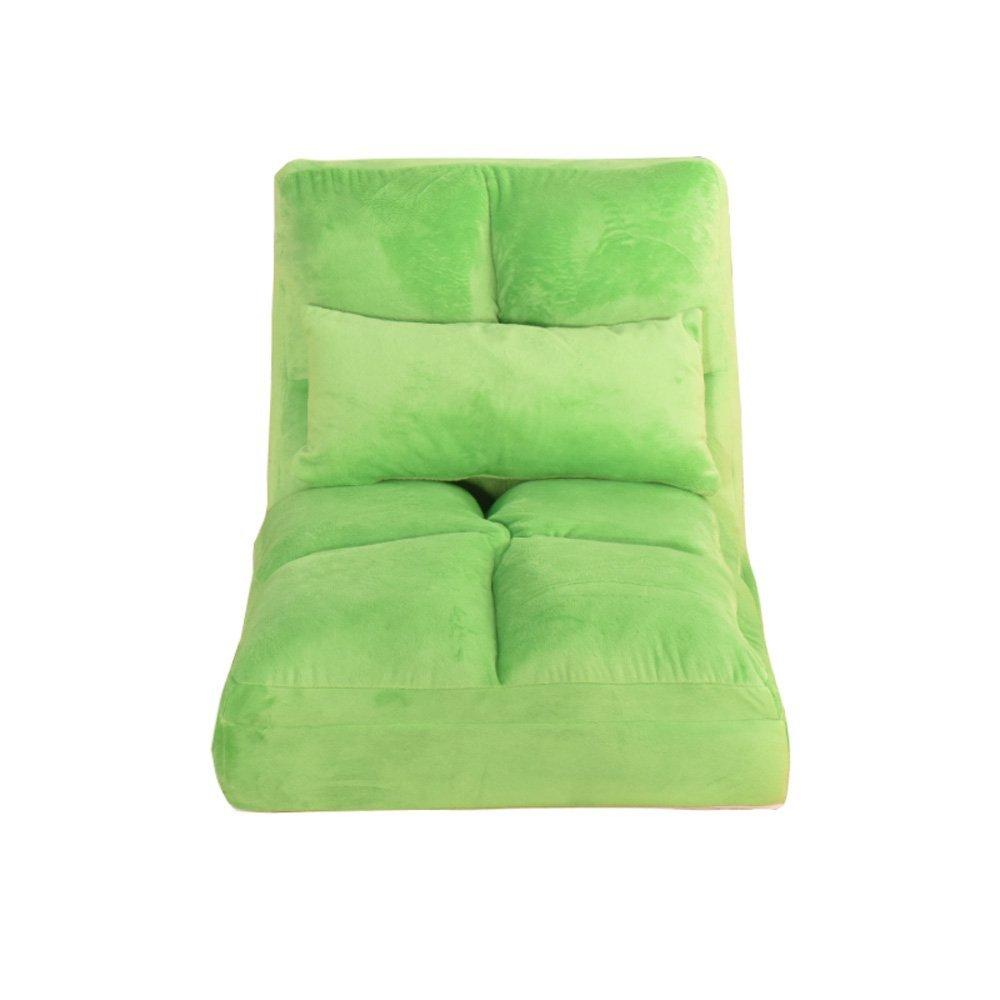 Beanbag PHTW HTZ Sofá Perezoso, sofá Plegable Alargado Simple, Silla Flotante de la Ventana, Silla del Respaldo del Ocio + (Color : 2)
