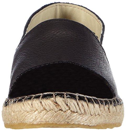 Leather Espadrillos Femme Pieces Noir black Espadrilles Psjosephine TqPAwU65