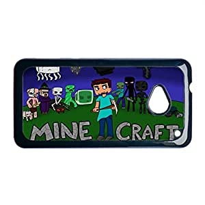 Custom Design With Uk7 Minecraft Great Phone Case For Children For Htc One M7 Choose Design 5