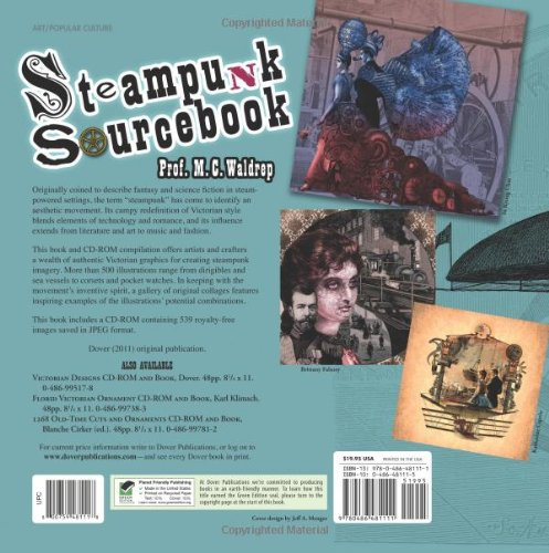 Steampunk Sourcebook (Dover Pictorial Archive) 4