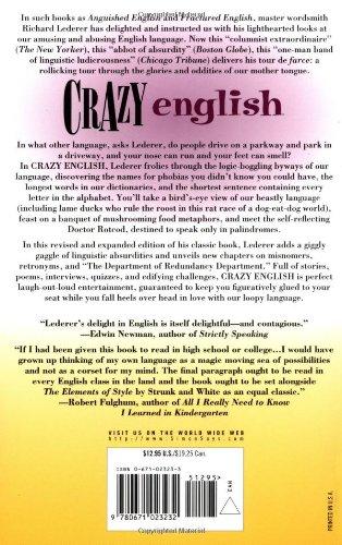 Crazy English: Richard Lederer: 9780671023232: Amazon.com: Books