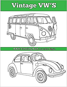 Buy Vintage Vw\'s: An Adult Coloring Book Book Online at Low ...