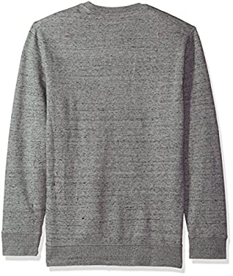 Calvin Klein Jeans Men's Distressed Calvin Crew Neck Sweatshirt