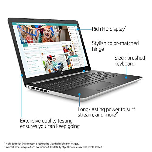 HP 15.6inch Premium Flagship Laptop, AMD Dual-Core A9-9125 Processor Up to 2.6GHz, 4GB Ram, 500GB HDD, AMD Radeon R5…