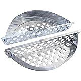 Cook>it® 90049 Holzkohlekörbe Char-Basket 2er Set
