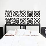 king size headboard ideas Larmai Quote Mural Sticker Artistic Kirigami Headboard Stickers for Bedroom (King Size) Removable Vinyl Wall Decals Art