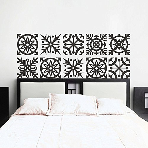 Larmai Quote Mural Sticker Artistic Kirigami Headboard Stickers for Bedroom (King Size) Removable Vinyl Wall Decals Art