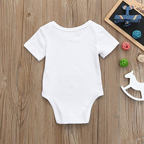 Clearance Sale Newborn Kids Baby Boys Girls Cotton blend Letter Floral Print Romper Jumpsuit Outfits Party Clothes