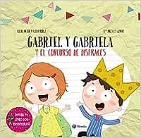 Diseña tu libro con recortables. Gabriel y Gabriela y el concurso ...