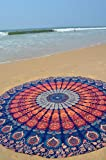 The Boho Street Branded Cotton Mandala Roundies, Beach Throw, Indian Mandala Tapestry, Yoga Mat, Picnic Mat ,Table throw