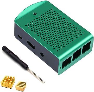 ZkeeShop Caja de Aluminio con disipador de Calor Compatible para ...