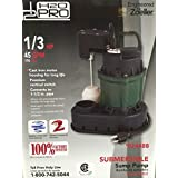 Zoeller H2OPRO 1/3HP 45GPM Sump Pump