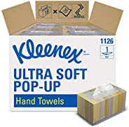 Kleenex Hand Towels (11268), Ultra Soft and Absorbent, Pop-Up Box, 18 Boxes / Case, 70 Paper Hand Towels / Box
