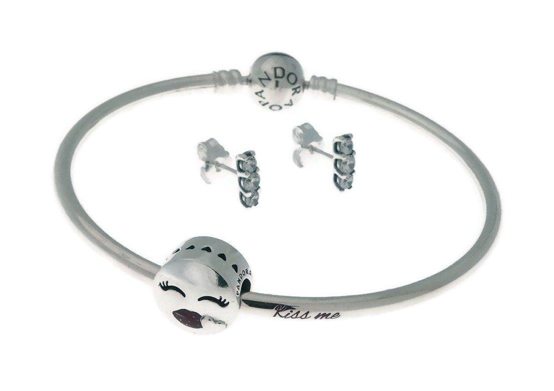 PANDORA Kiss Me Bangle Gift Set, B800774-19