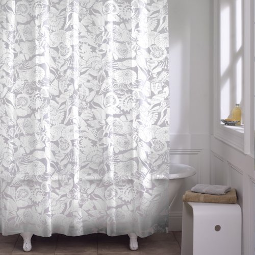 clear design shower curtain - 5