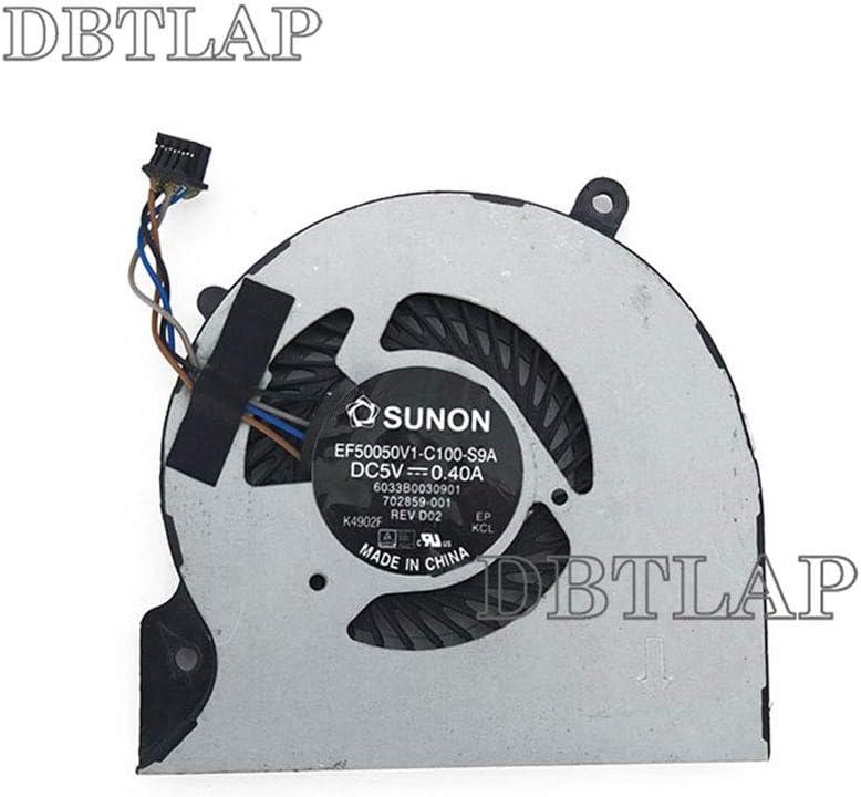 DBTLAP CPU Cooling Fan Compatible for HP EliteBook Folio 9470 702859-001 6033B0030901 9470M EF50050V1-C100-S9A Series