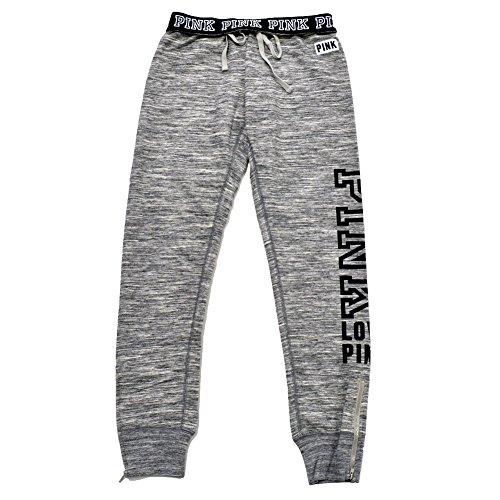 Victoria's Secret Pink Gym Pant Sweatpants MARL Gray (Small) (Vs Gym Pants)
