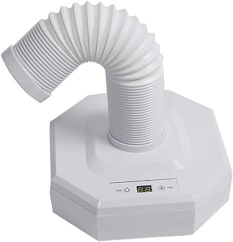 Electric Nail Drills 60W Aspirador de Uñas con luz LED Aspiradora ...