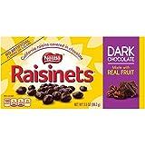 Raisinets Sun-Ripened Plump Juicy California Raisins Tucked in Rich Creamy Dark Chocolate, 15 Count