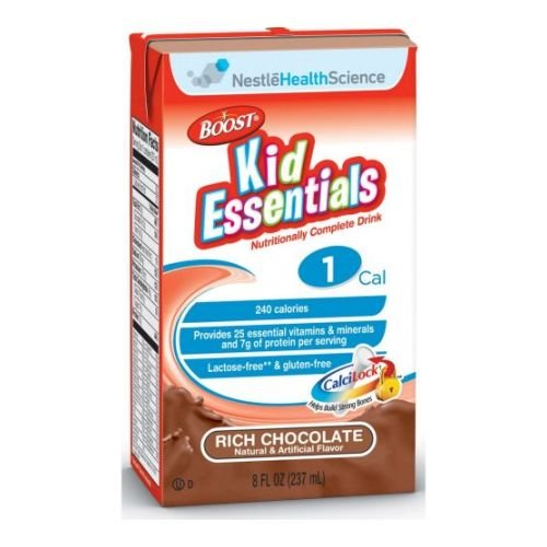 Boost Kid Essentials Chocolate Flavor Drink, 237 Milliliter - 27 per case. (Resource Boost)