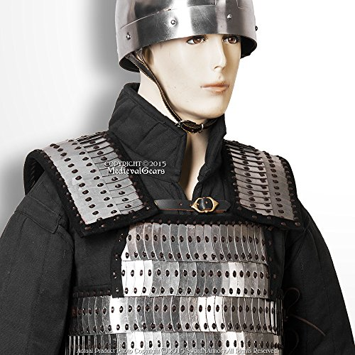 Medieval Gears Brand Medieval Metal Scale Plate Body Armor Domed Scales LARP Renaissance Costume M by Medieval Gears