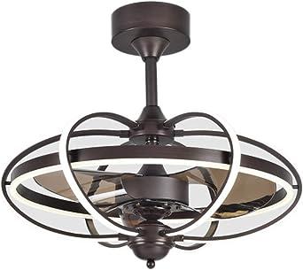 Ventiladores de techo con lámpara Luz del ventilador del restaurante Luz del ventilador del techo Salón Dormitorio con ventilador Luz del techo con aire acondicionado Iluminación de interior: Amazon.es: Iluminación