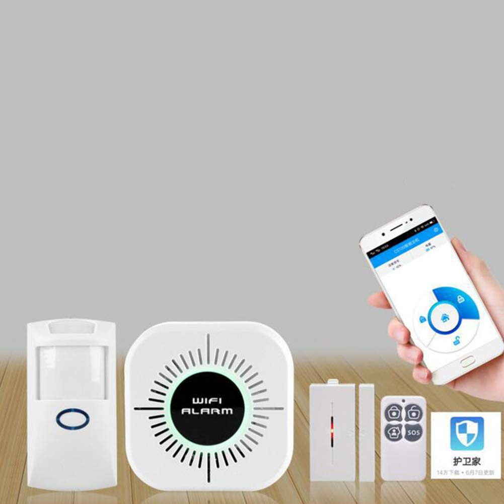 Aoile Wireless Wi-Fi Smart Home House Office Security Burglar Alarm Systems Kit