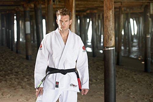 Flow Kimonos Air BJJ Jiu Jitsu Gi (White, A1)