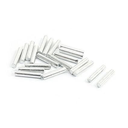 Aexit 20 piezas 10 mm x 2 mm varilla redonda de acero ...