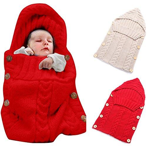 Red Baby Stroller - 1